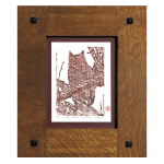 Simple Tenon Handcrafted Frame