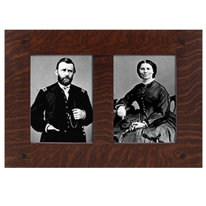 Dual Oak Photo Frame