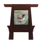 Wood Frame with Duck Tile