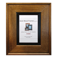 Mitered Wood Picture Frame