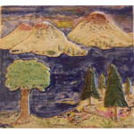 Mountains Tile - Ray Connors