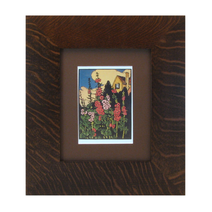 Mitered Wood Picture Frame Wide