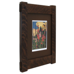 Craftsman Through Tenon Wood Picture Frame