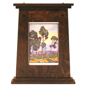 Prairie Style Mantle Wood Picture Frame - MT2067