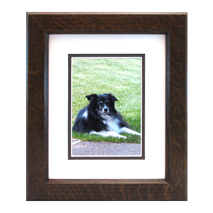 Mission Dual Chamfer Mitered Wood Picture Frame