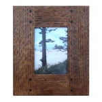Wide Hidden Tenon Mission Wood Frame