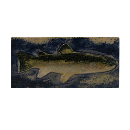 Handcrafted Fish Tile