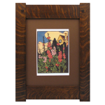 Mission Tenon Wood Frames