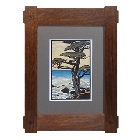 craftsman through tenon wood frames - Wooden Picture Frames
