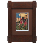 Stickley Craftsman Tenon Wood Frame