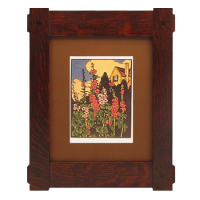 Craftsman Through Tenon Wood Frames