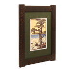 Narrow Classic Mission Tenon Wood Frame
