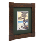 Mission Corner Block Wood Frame