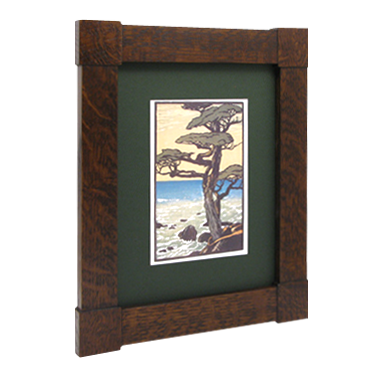 Mission Corner Block Frame - MT2055 - Solid Wood Frames