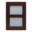 Dual Picture Tenon Wood Frame