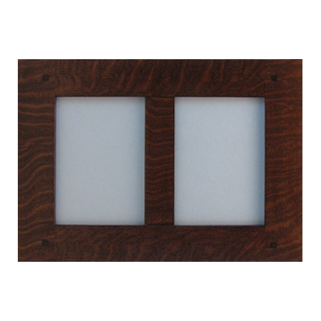 dual picture tenon wood frame - Dual Picture Frame