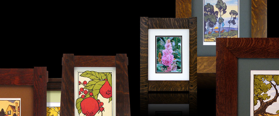 Custom Handcrafted Wood Frames