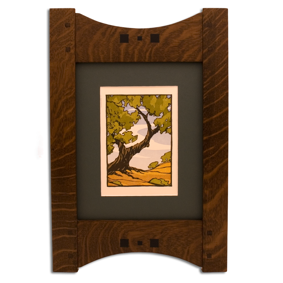 Mission Wood Picture Frame