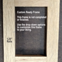 4x6 Oak Wooden Frame